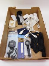 Lot Of Costume Jewelry Nikon Wire Release Stop And Wristwatches Elephant Training Bell