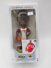 Upper Deck Collectibles Premium Playmakers Lebron James 2003 Nba Bobblehead In Box