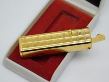 Lot 75: Vintage Sunex Goldtone Refillable Butane Lighter In Original Box