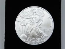 Lot 85: 2005 United States Mint American Eagle 999 Fine Silver 1 Oz Dollar Bullion