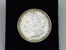 Lot 105: 1884 United States Mint Morgan Silver Dollar Coin 26.6G