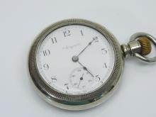 Lot 107: Antique Elgin 15 Jewel Railroad Pocket Watch