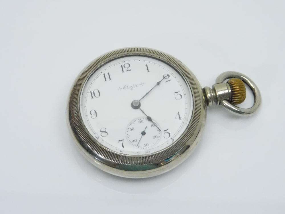Antique Elgin 15 Jewel Railroad Pocket Watch
