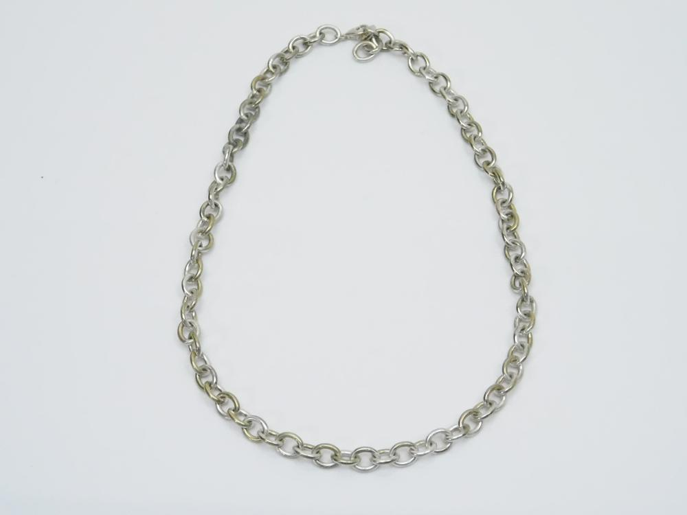 Sterling Silver T & Co Sterling Silver Choker Necklace 25G