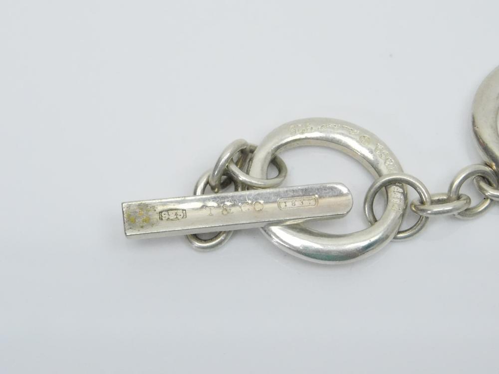 Lot 111: Vintage Tiffany & Co Elsa Peretti Ring Toggle Bracelet 32G