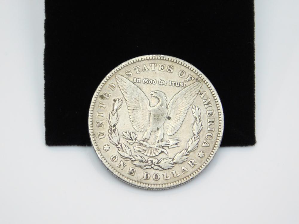Lot 152: 1878 United States Mint Morgan Silver Dollar Coin 26.4G