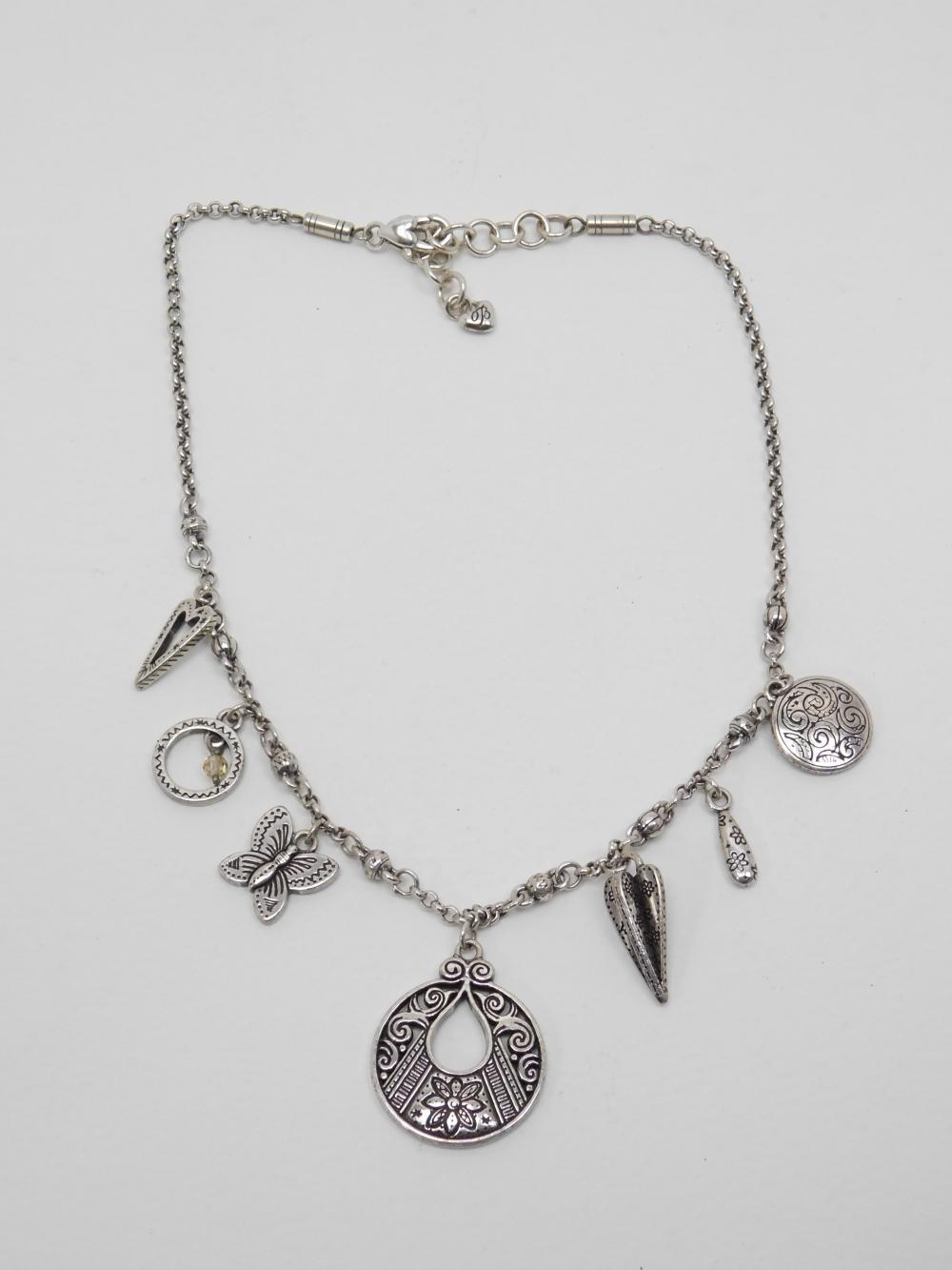 Brighton Costume Jewelry Charm Necklace