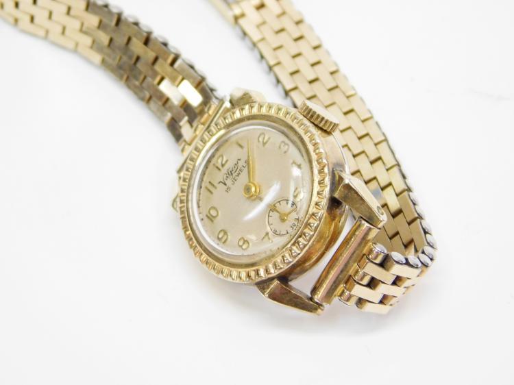 Lot 6: Vintage Valjean 15 Jewel Ladies Windup Working Wrist Watch
