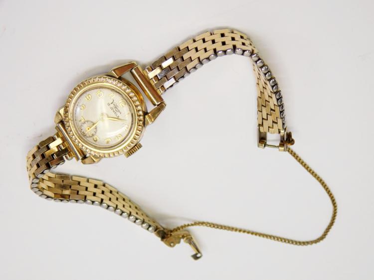 Vintage Valjean 15 Jewel Ladies Windup Working Wrist Watch