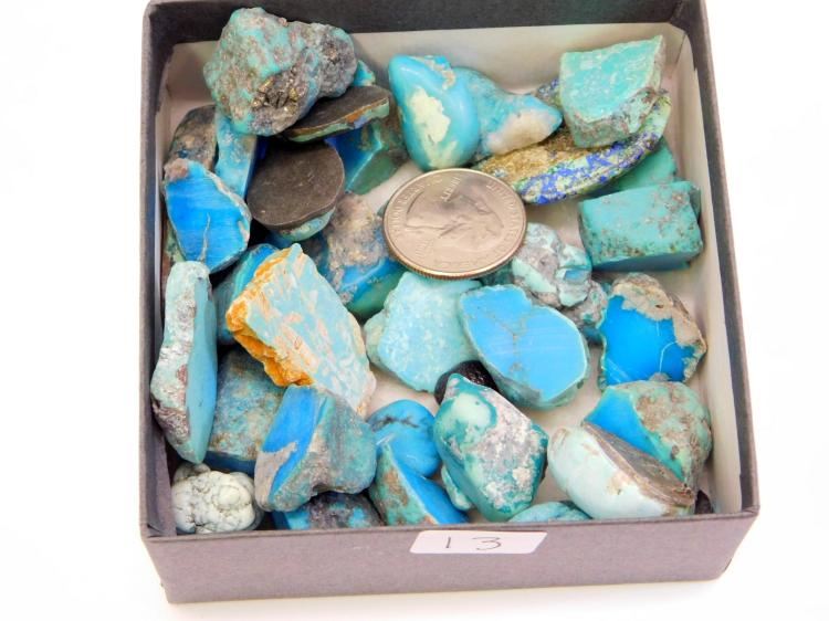 Lot 13: Lot Of High Grade Turquoise For Jewelry Making