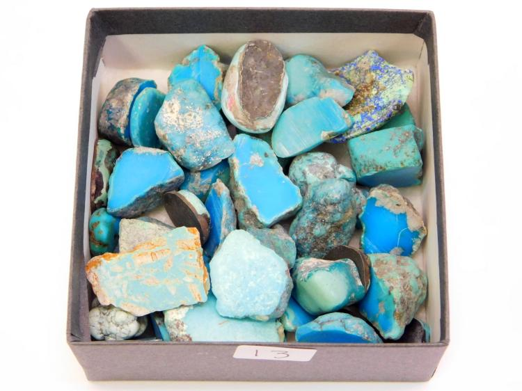 Lot Of High Grade Turquoise For Jewelry Making