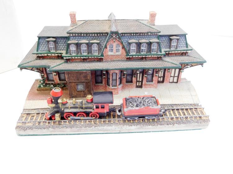 1993 Danbury Mint The Bethlehem Railroad Station