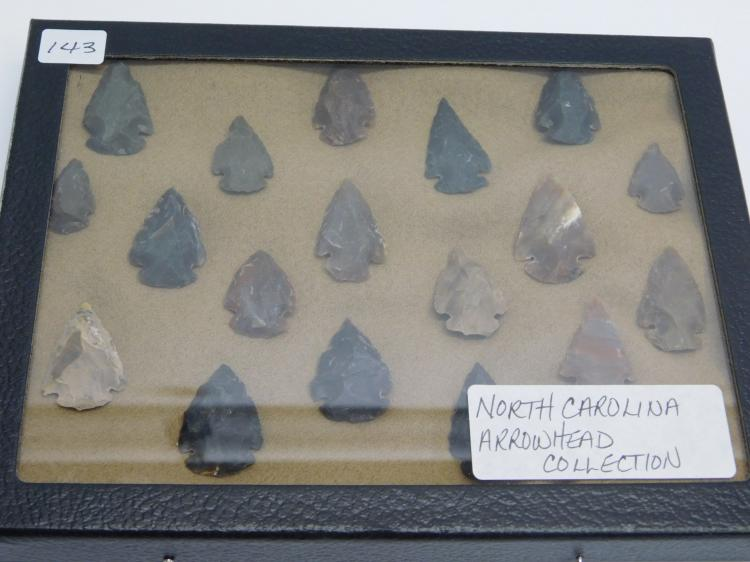 North Carolina Arrowhead Collection.
