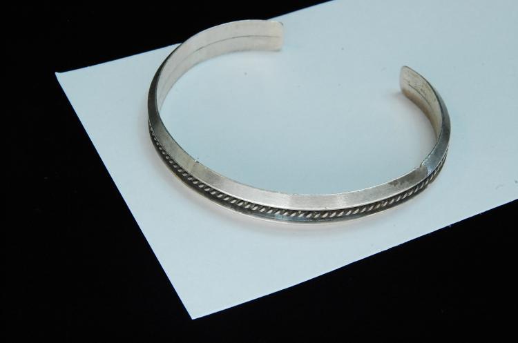 20g Sterling Silver Navajo Cuff Bracelet