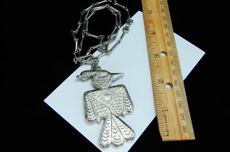 Lot 146: Vintage Costume Jewelry Thunderbird Necklace