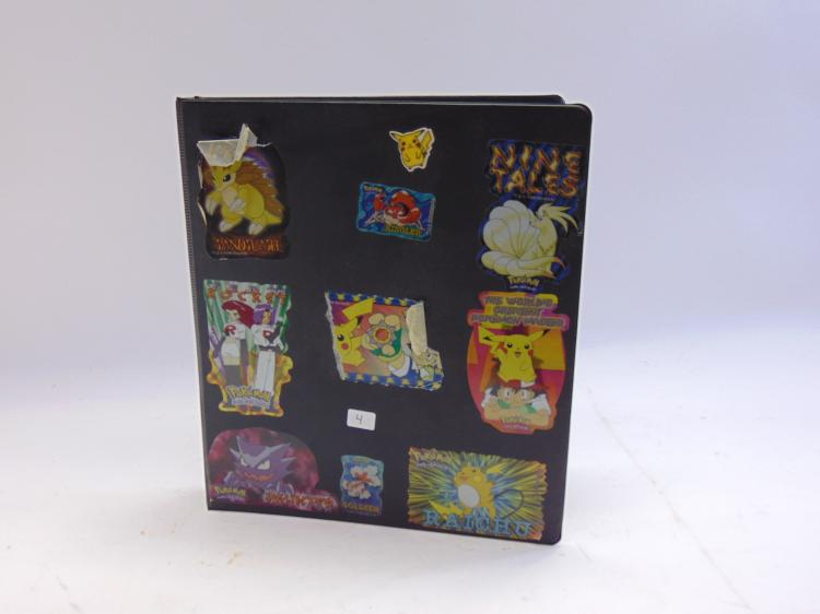 Lot 4: Lot of 126 Collectible Pokemon Cards in Protective Pages