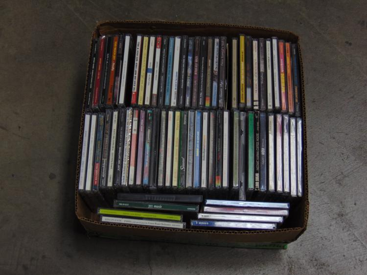 Lot of Over 50 Pop and Rock CDs Including Ween and Tom Jones