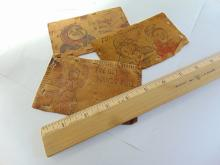 Lot 87: Antique 1907 Leather Arizona and Texas Cancelled Travel Postcard Lot of 3