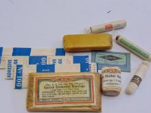 Lot 93: Lot of Vintage Mine Safety Appliances Co First Aid Supplies in Gillette Case