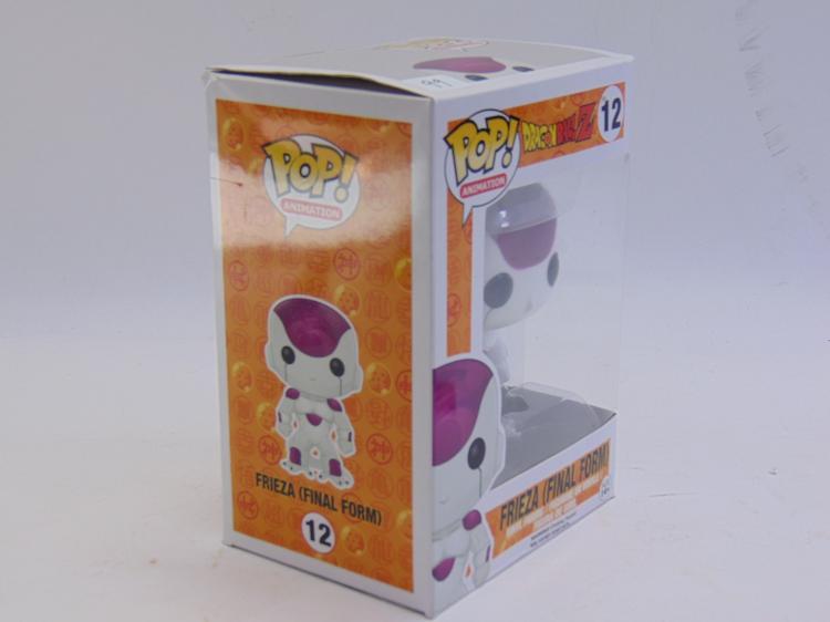 Lot 99: Pop Animation Dragonball Z Frieza Final Form Vinyl Figure New In Box