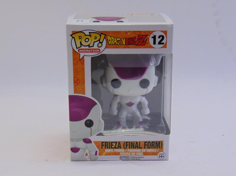 Pop Animation Dragonball Z Frieza Final Form Vinyl Figure New In Box