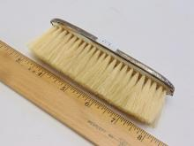 Lot 114: Antique Sterling Silver 31.8 Gram Clothes Brush
