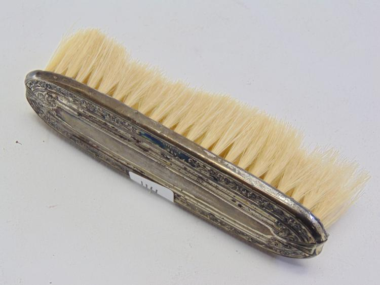 Antique Sterling Silver 31.8 Gram Clothes Brush