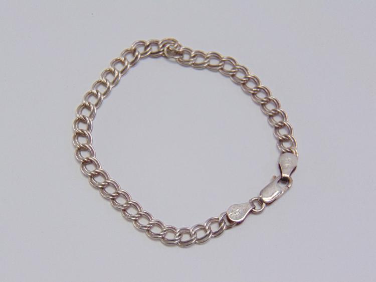"""Sterling Silver 7"""" Link Bracelet"""