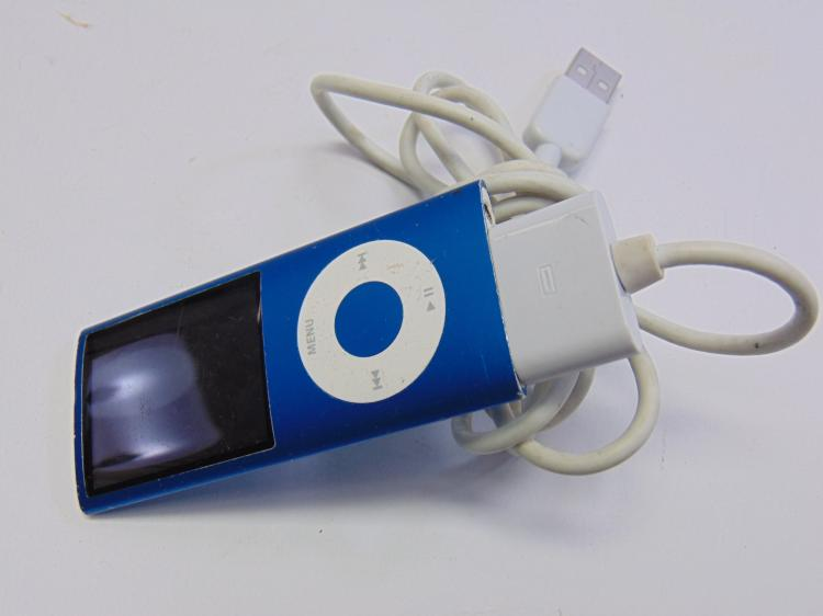 8GB 4th Gen Blue Ipod Nano A1285