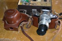 Exakta Varex Iia Film Camera With Case Manual And Extras