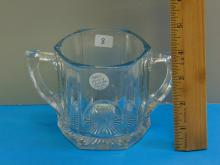 Lot 8: 1900s Heisey Crystal Sugar Bowl