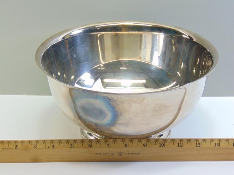 Lot 38: Gorham EP YC784 Punch Bowl