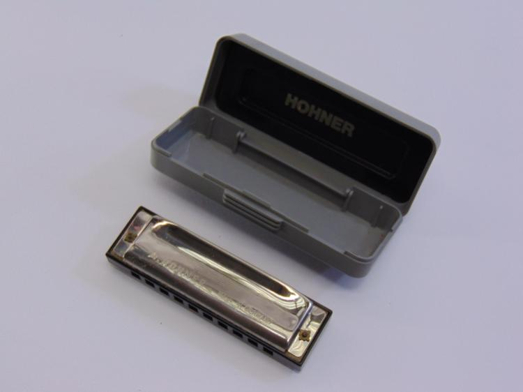 M. Hohner Special 20 Marine Band Harmonica in Case