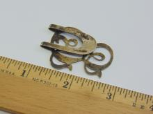 Lot 82: Vintage Sterling Silver Stylized Bookmark Signed Apollo