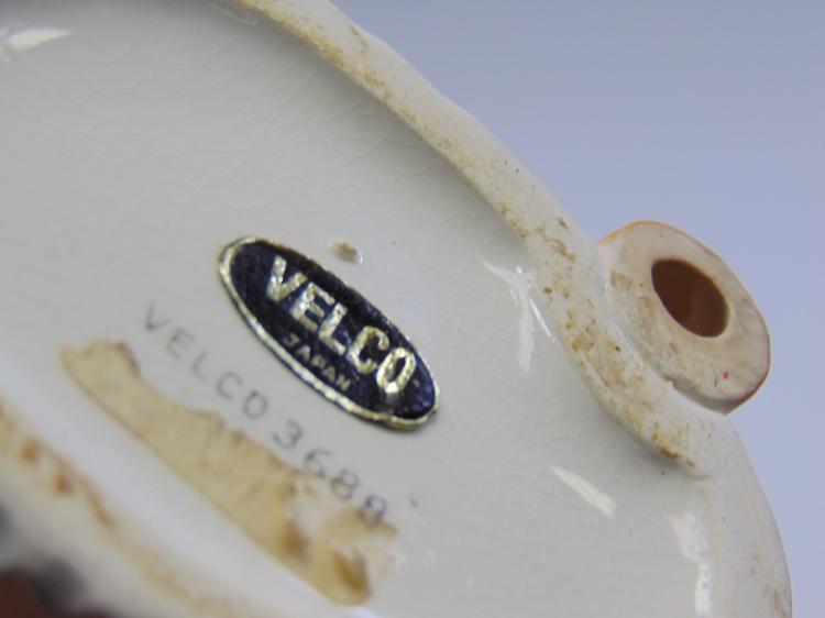 Lot 123: Vintage Velco Japan Lady Head Vase