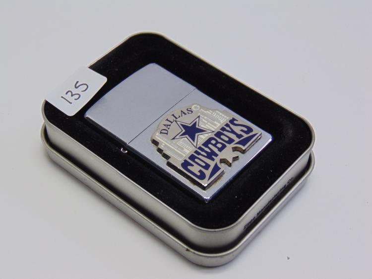 Unstruck Dalls Cowboys Zippo Lighter in Case