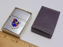 Lot 138: Vintage New in Box Caveant Aggresores Lighter