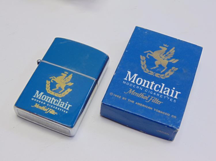 Vintage Advertising Continental Montclair Cigarette Lighter New in Box