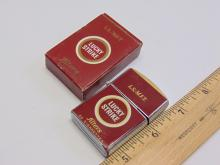 Lot 144: Vintage Advertising Continental Lucky Strike Cigarette Lighter New in Box