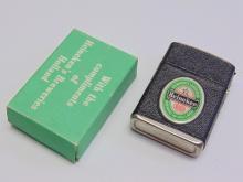 Lot 145: Vintage Advertising Heineken Lighter New in Box