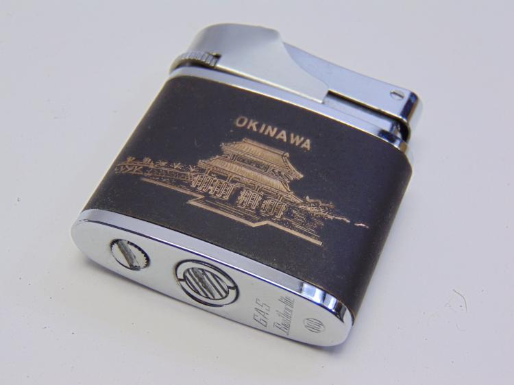 Okinawa Japan GAS Brother-Lite Lighter