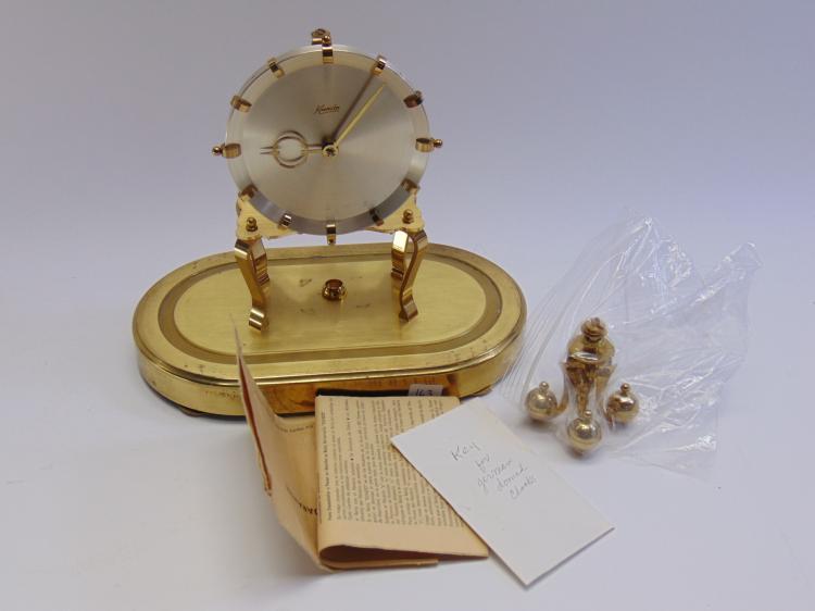 Vintage Kundo Kieninger West German Anniversary Clock