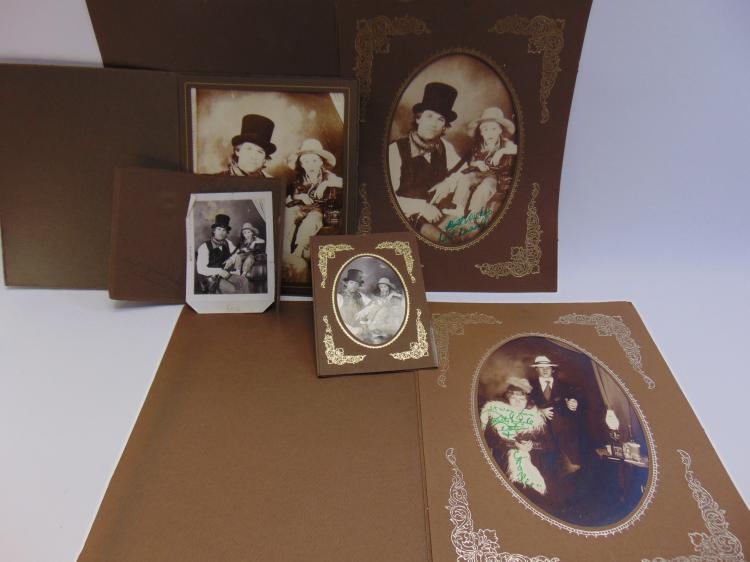 Lot 183: Lot of Kurt Russell Western Photographs Signed Patty Duke Aster