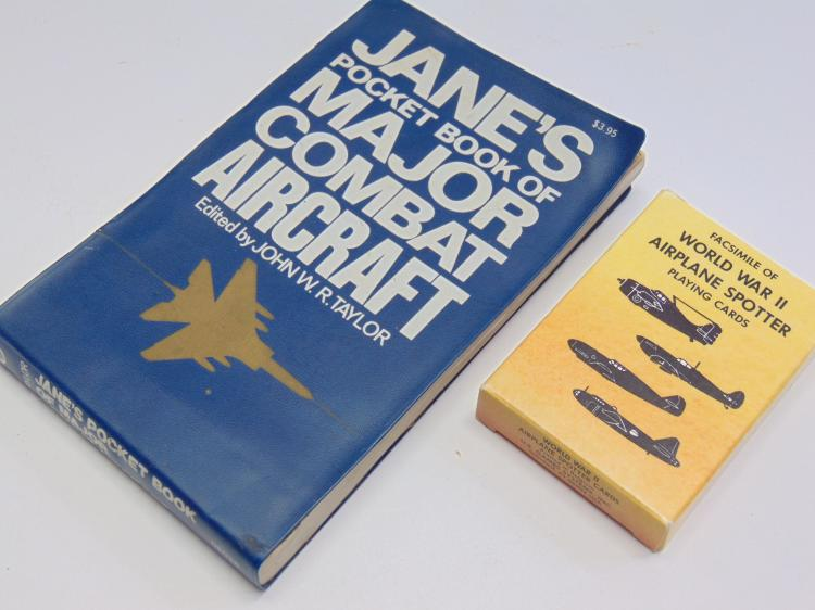 Jane's Pocket Book of Combat Aircraft and Spotter Playing Cards