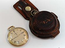 Lot of 2 Pocket Watches Caravelle & Coleman