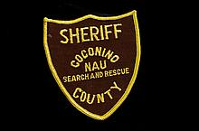 Coconino County Sheriff NAU Search Rescue Patch