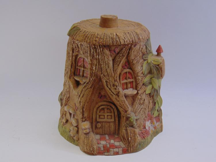 Lot 12: 1977 Duncan Enterprises Gnome Home Cookie Jar