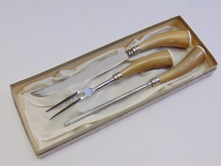 3 Piece Cutlery Set Made by Blado, Made in Sheffield England