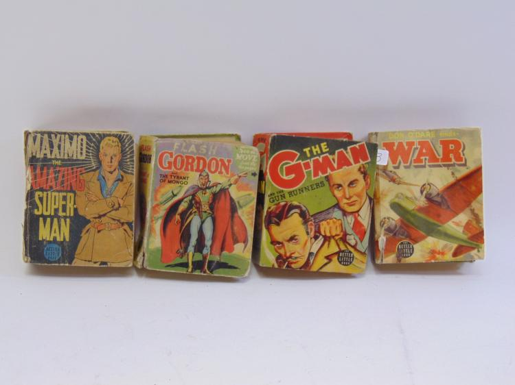 4 The Better Little Book.   Flash Gordon, The GMAN, War, and Maximo