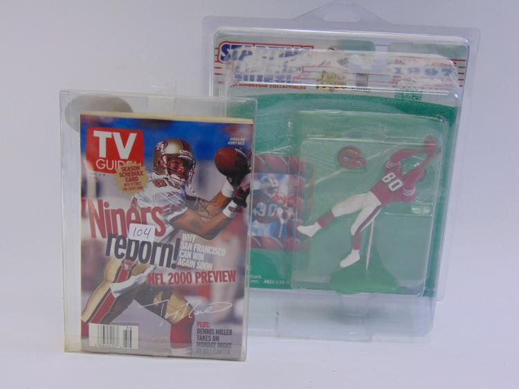 Starting Lineup Jerry Rice Figurine New in Box, With Card, And Jerry Rice To Guide